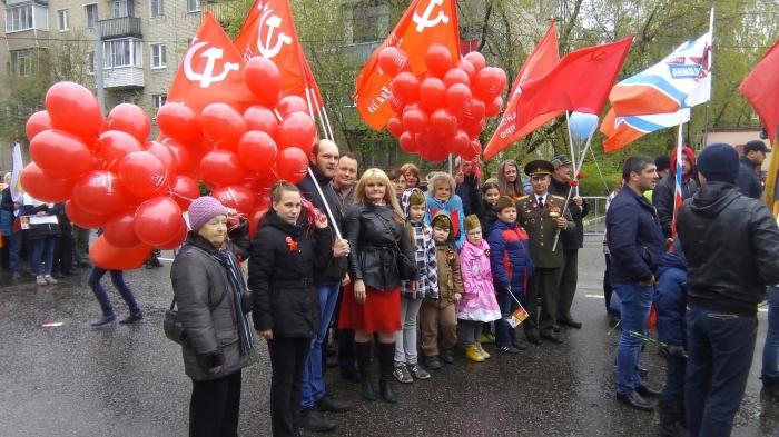 Праздник Победы отметили в Щёлково