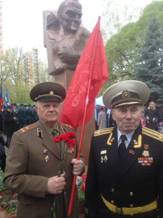 Королёв встретил День Победы под Красными знамёнами
