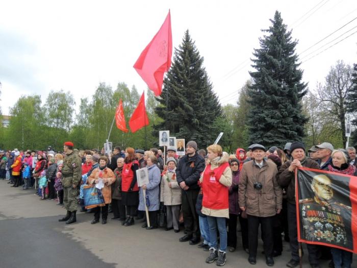 Вслед за Первомаем в революционном календаре РСФСР - День Победы