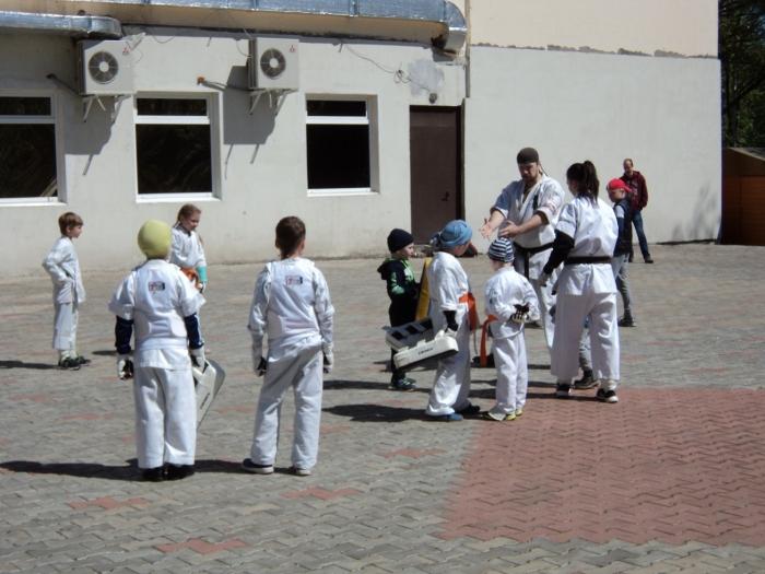 Открытое занятие по Каратэ в Центральном ПКиО города Люберцы