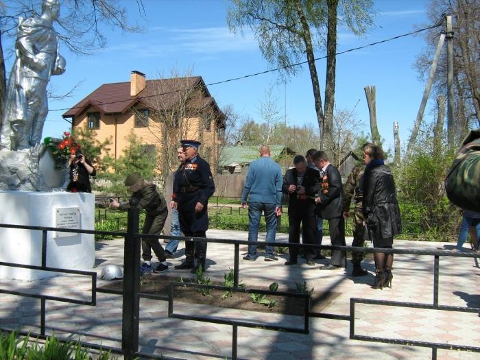 72-ую годовщину Победы отметили в Можайском районе