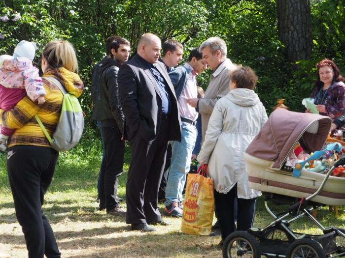 Рабочая суббота люберецкого депутата-коммуниста