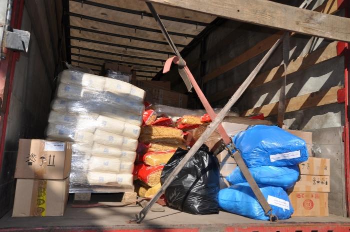 Коммунисты отправили 63-й гуманитарный конвой на Донбасс