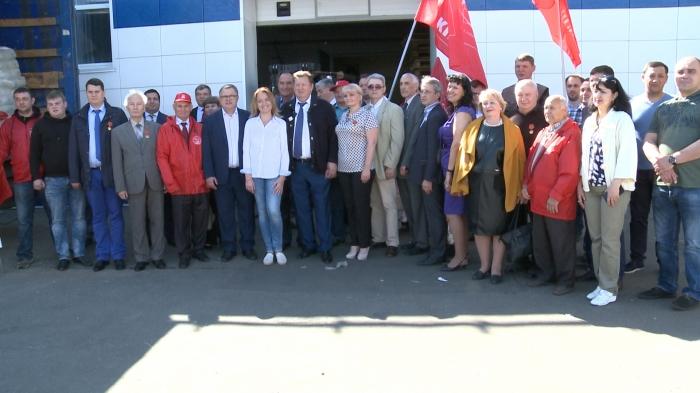 Коммунисты отправили 63-й гуманитарный конвой на Донбасс (26.06.2017)