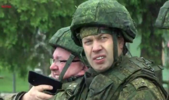 Учебно-тренировочные сборы для военнослужащих запаса из Государственной Думы 2017 Русских А.Ю.