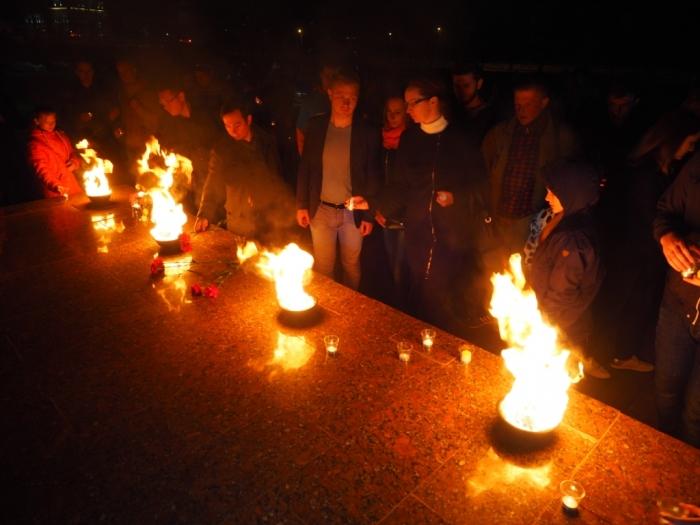 Акция «Свеча памяти» в Сергиев Посаде