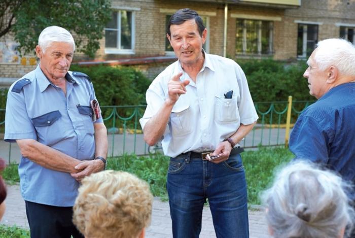Встречи с жителями Сергиева Посада продолжаются