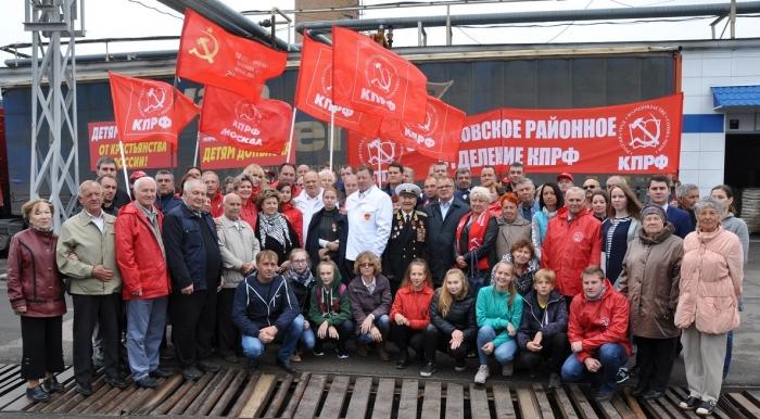 65-ый пошел! Коммунисты отправили гуманитарный конвой на Донбасс