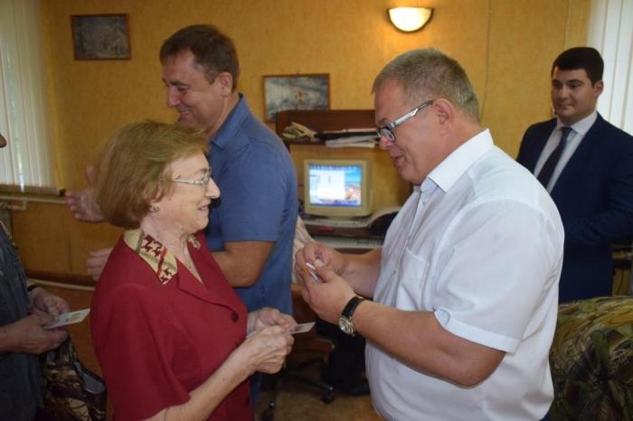 В Ступино состоялась встреча «Детей войны» с депутатом Мособлдумы Александром Наумовым
