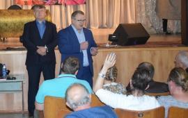 В сельском поселении Никоновское состоялась встреча с кандидатом от КПРФ