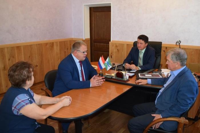 Рабочий визит депутата Мособлдумы Александра Наумова в Серебряные Пруды