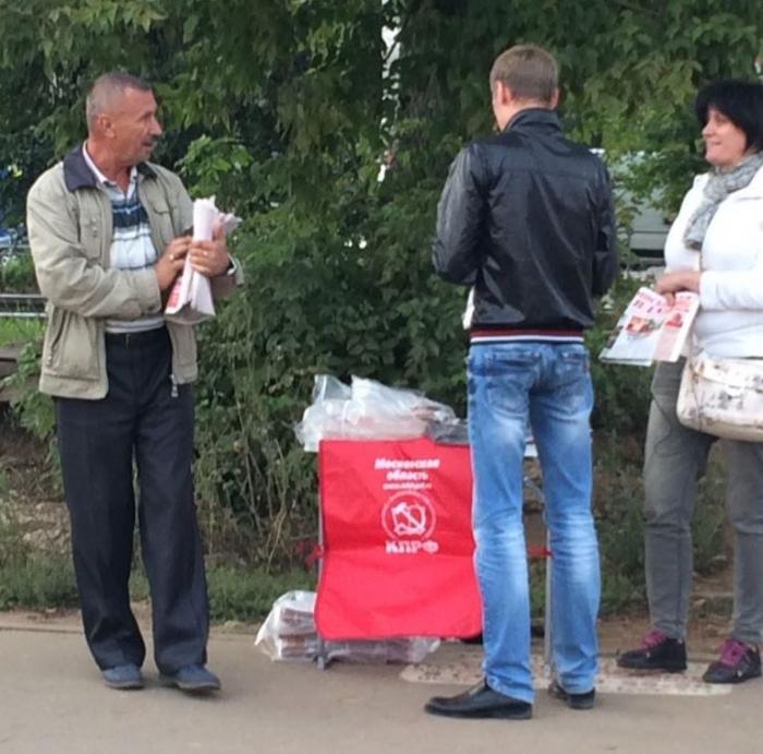 «Красные в городе»: в городских поселениях Монино и Загорянский Щелковского района коммунисты  подпирают «воров и жуликов»