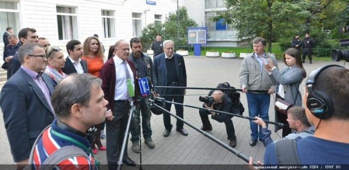 Г.А. Зюганов: «Выборы – очень удобное время, когда можно исправить ситуацию бюллетенем»