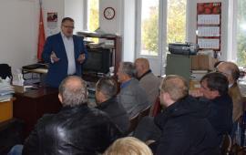 В Можайском муниципальном районе состоялся координационный Совет  депутатов-коммунистов Можайского района