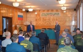 Состоялась встреча депутата Мособлдумы Александра Наумова  с коллективом филиала «Русский лес» ГКУ МО «Мособллес»