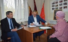 Депутат Мособлдумы Александр Наумов провел прием жителей в городском округе Домодедово