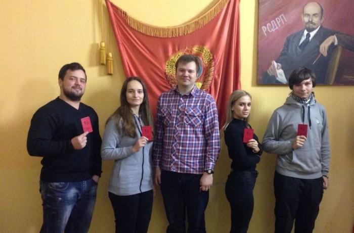 Люберецкие комсомольцы обсуждают планы развития