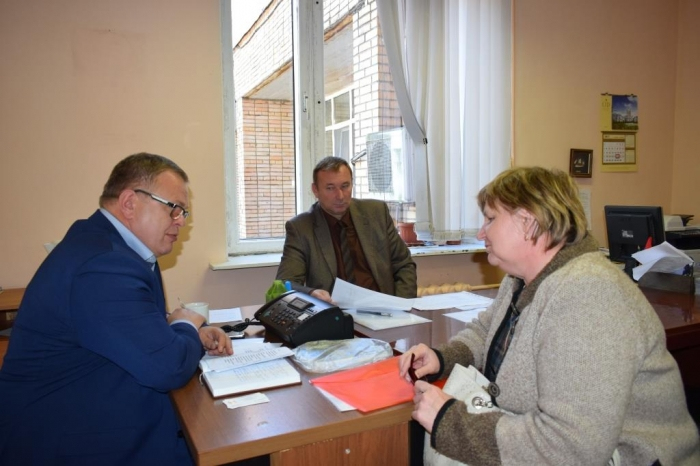 Рабочая поездка Секретаря МК КПРФ Александра Наумова в городской округ Озеры Московской области