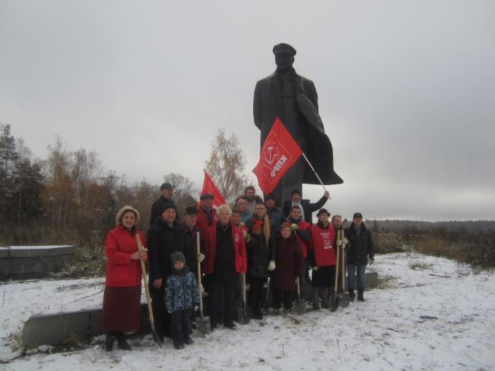 100 берёз В.И. Ленину к юбилею Великого Октября