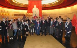 В «Горках Ленинских» отметили 100-летие Великого Октября