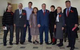 В Раменском районе прошло торжественное мероприятие, посвященное 100-летию Великого Октября