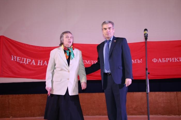 Малаховка празднует юбилей Октября
