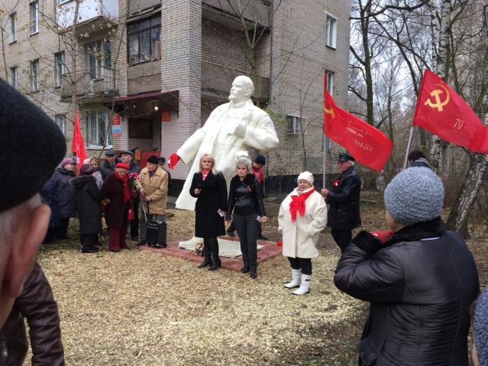 Ленин жил! Ленин жив! Ленин будет жить!
