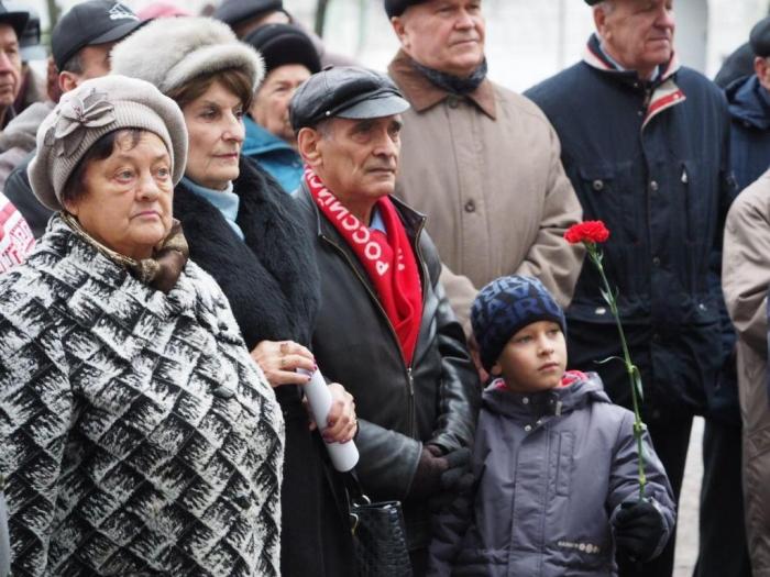 100-летие Великого Октября отметили в Сергиевом Посаде