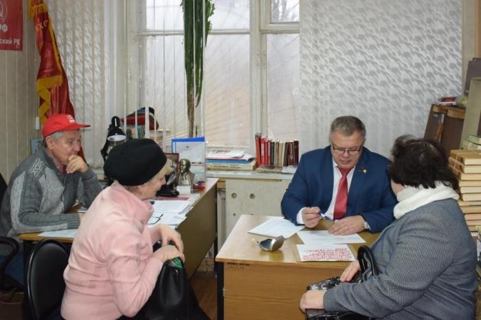 Депутат Мособлдумы  Александр Наумов провел прием жителей в Серпуховском муниципальном районе
