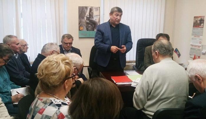 25 ноября состоялось совещание первых секретарей