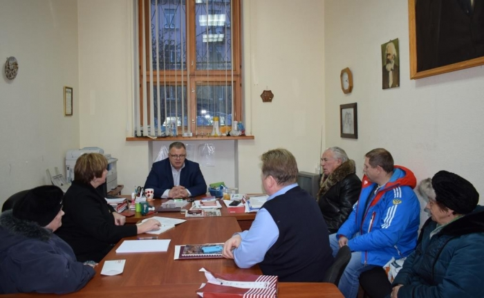Депутат Мособлдумы Александр Наумов провел прием жителей в городском округе Подольск