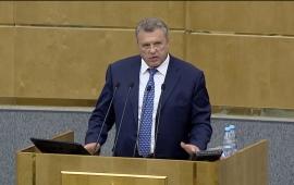 Выступление В.И. Таранина на парламентских слушаниях в Госдуме на тему: «Правовые и социальные аспекты устойчивого развития сельских территорий»