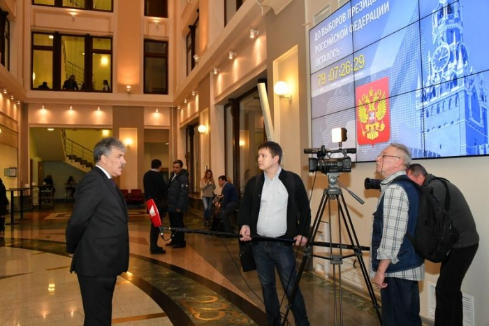 Кандидат в Президенты РФ П.Н. Грудинин сдал документы в Центризбирком