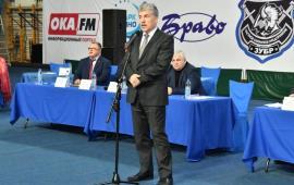 Выступление П.Н. Грудинина в д/с «Надежда» Серпуховского района