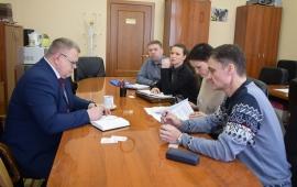 Депутат Московской областной Думы Александр Наумов провел прием граждан в городском округе Подольск