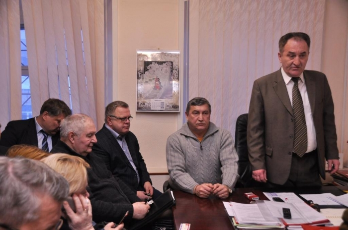 Заседание областного предвыборного штаба