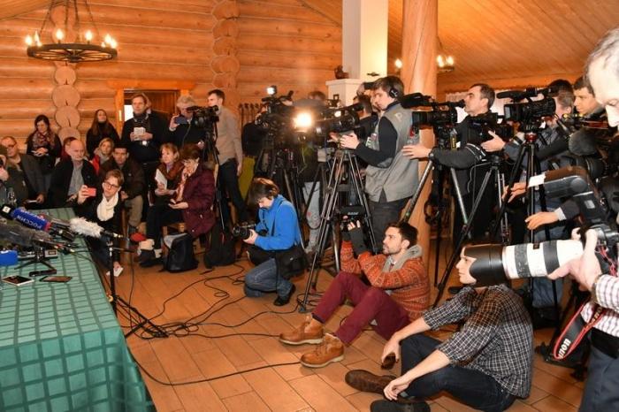 Встреча Павла Грудинина с иностранными журналистами в Совхозе им. Ленина