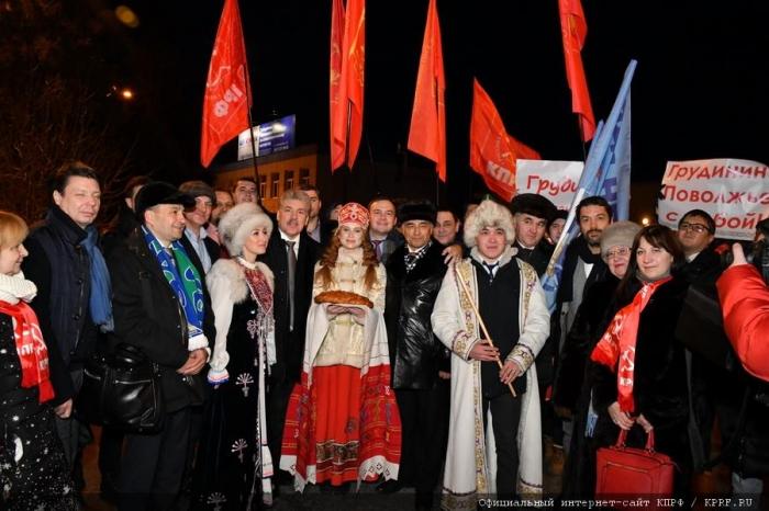 П.Н. Грудинин прибыл в Республику Башкортостан