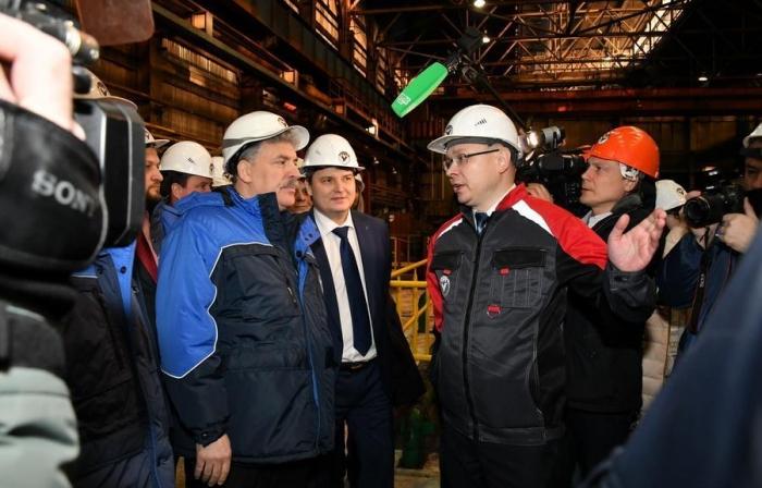 П.Н. Грудинин посетил Уральский трубный завод