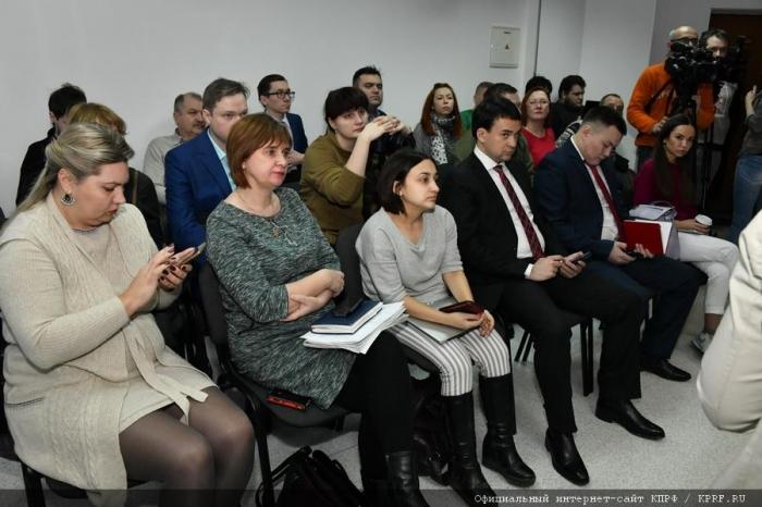 П.Н. Грудинин: «Я надеюсь, что вы все придете на выборы и проголосуете за нашу программу»