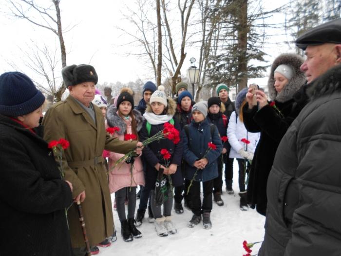В городском округе Руза прошло мероприятие, посвященное 75-летию окончания Сталинградской битвы