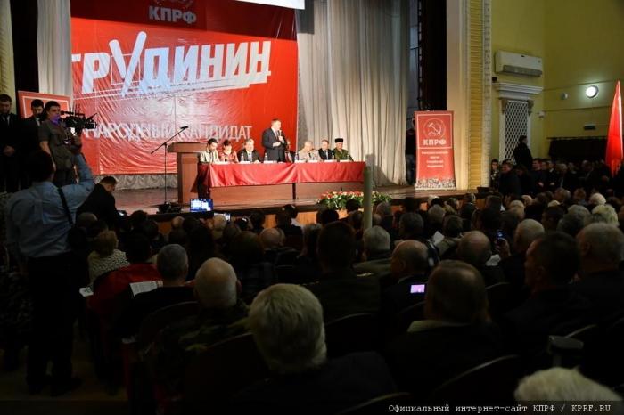 Завершился рабочий визит П.Н. Грудинина в город Ростов-на-Дону