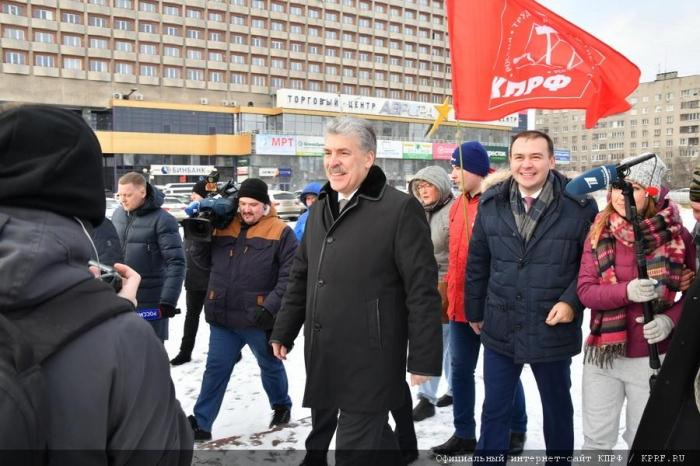 Рабочий визит П.Н. Грудинина в Нижегородскую область