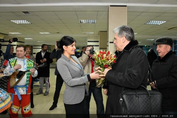 П.Н. Грудинин прибыл с рабочим визитом в Барнаул