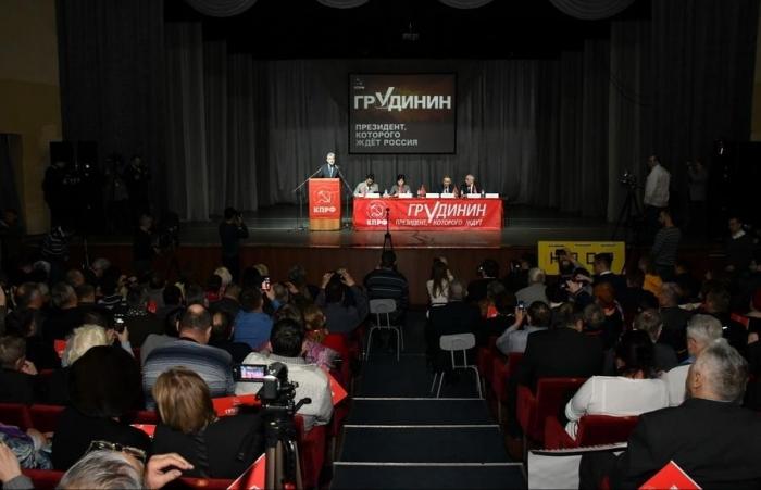 Завершился рабочий визит П.Н. Грудинина в Барнаул