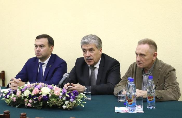 Павел Грудинин и Юрий Афонин встретились с активом ПДС НПСР