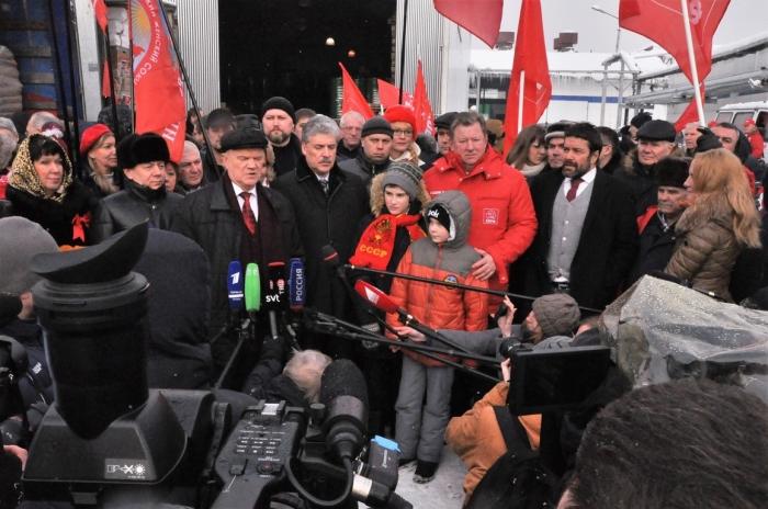 70-й Юбилейный гуманитарный конвой ушел на Юго-Восток Украины. Донбасс, мы с тобой!