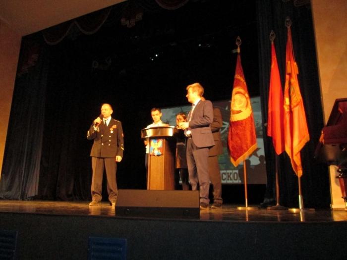 В Люберцах отпраздновали 100-летие Красной Армии