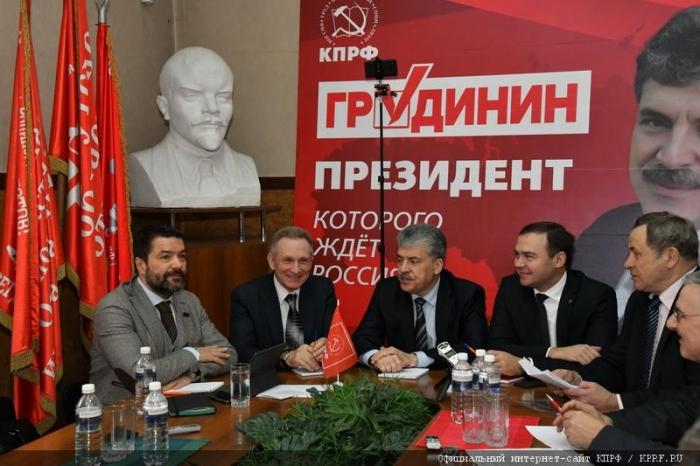 Начался рабочий визит Павла Грудинина в Иркутскую область