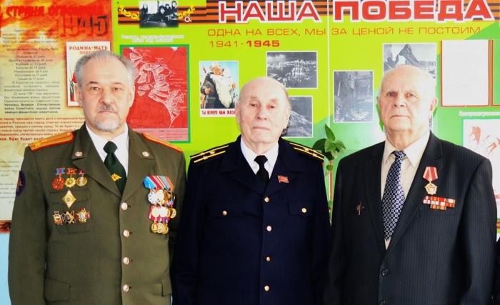 В Болшевской средней общеобразовательной школе №6 прошел урок мужества